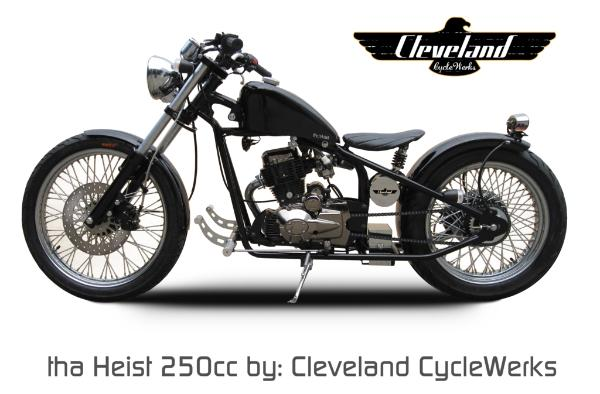 250cc motorcycles by Cleveland Cycle Werks distributed by Valley ...
